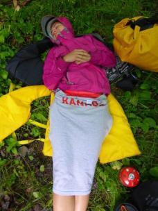 2014.09 Obóz Klasztor10 - drzemka po śniadaniowa – część druga