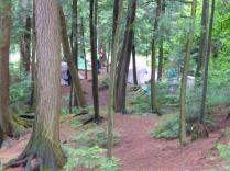 2014.09 Obóz Klasztor3 - obóz w lesie