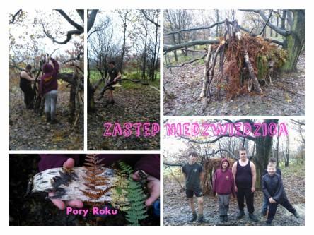 2015.01 Biwak hufca Wilno - Niedzwiedzica