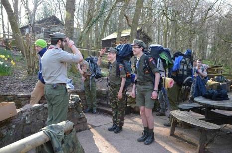 2016.04 Mlody Las - patrol z hufca Szczecin